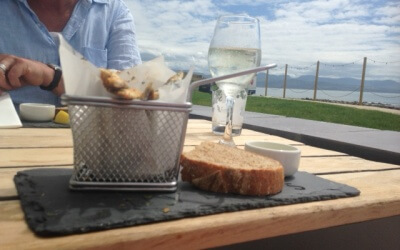 Dining in Style in Criccieth