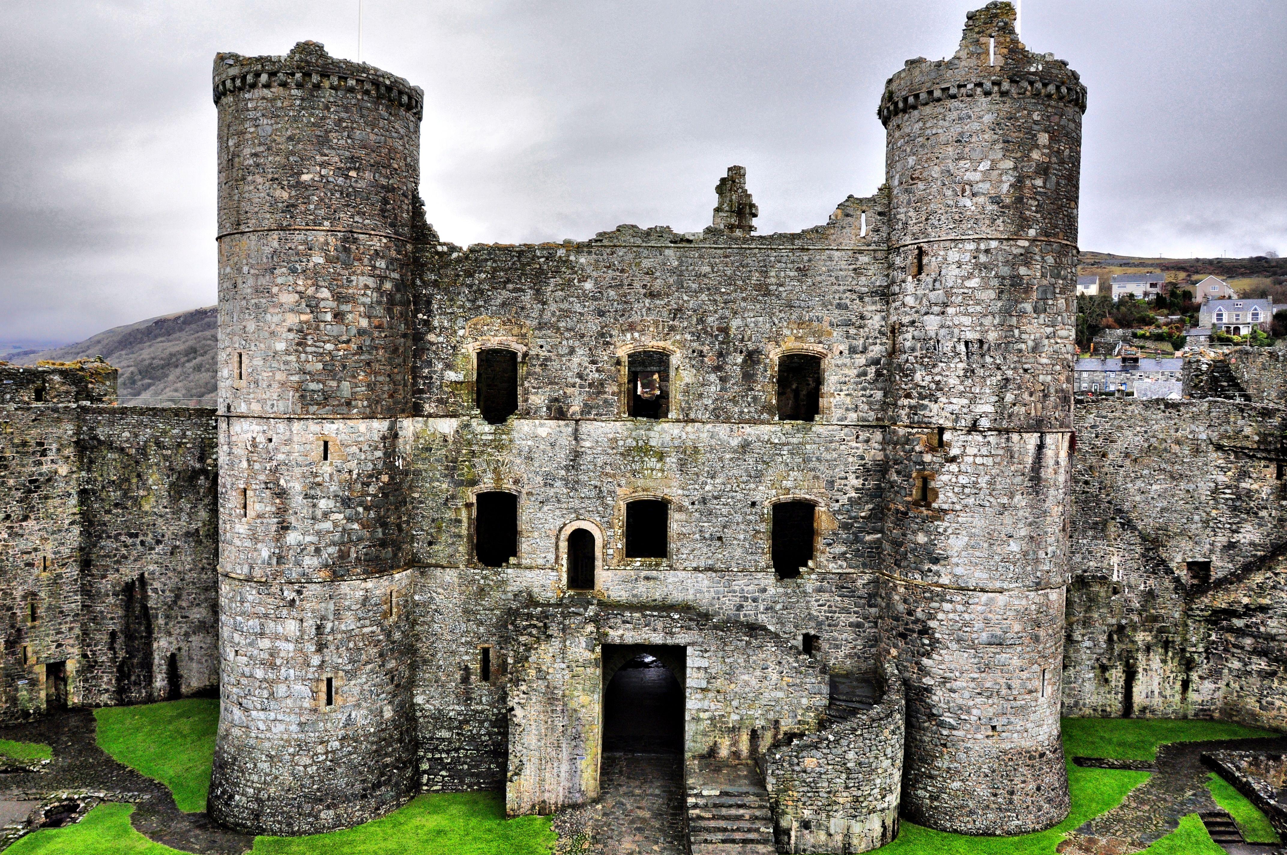 Harlech Castle Graig Wen