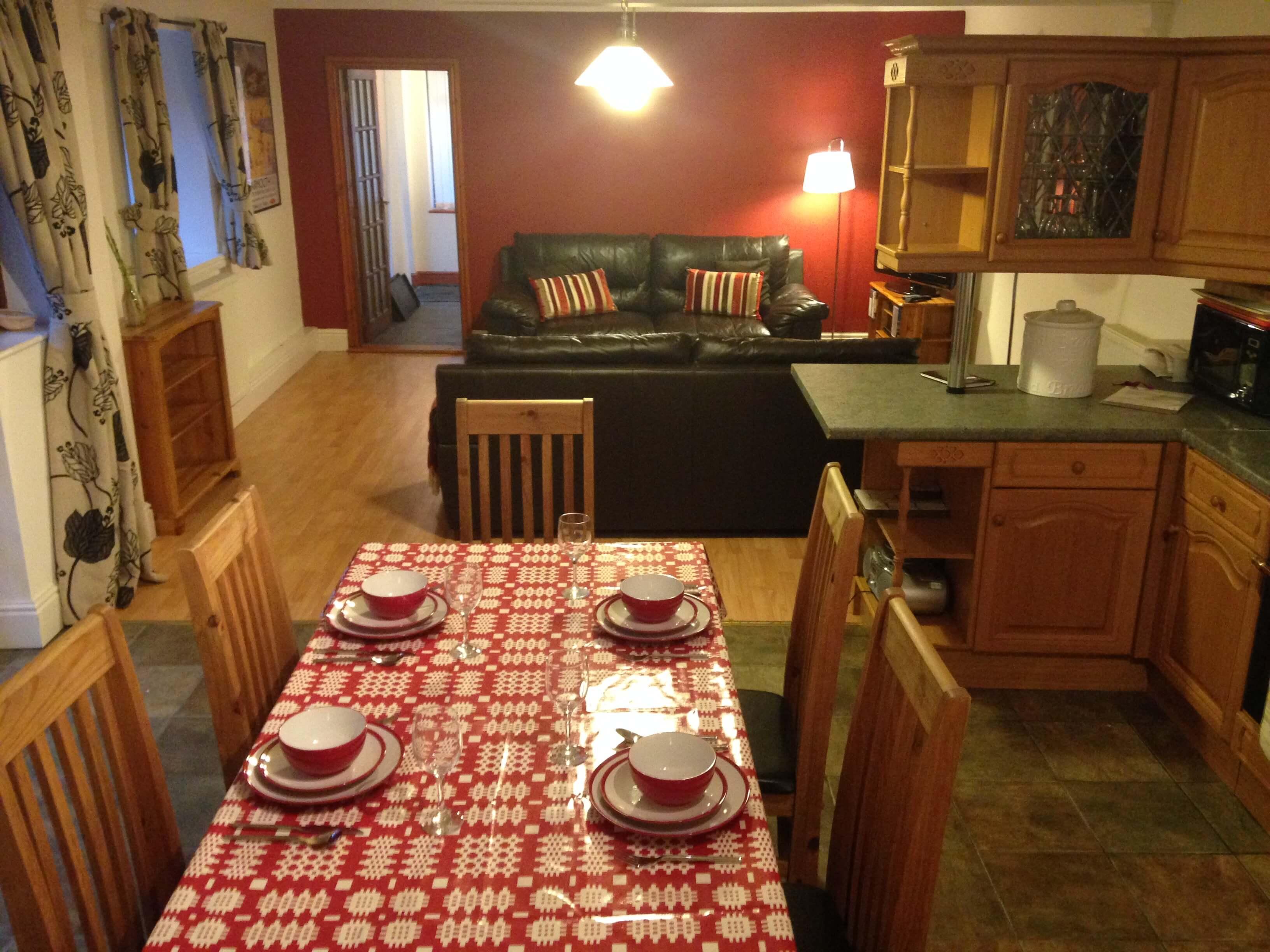 Big kitchen table