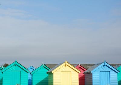 Beach Huts on Llyn Penninsula