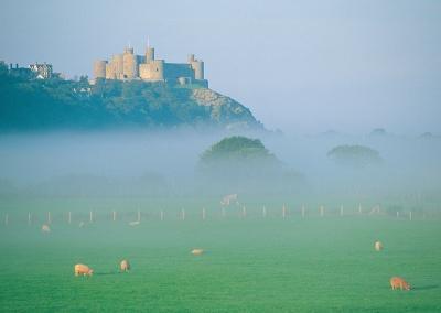 Harlech Castle © Crown copyright (2014) Visit Wales