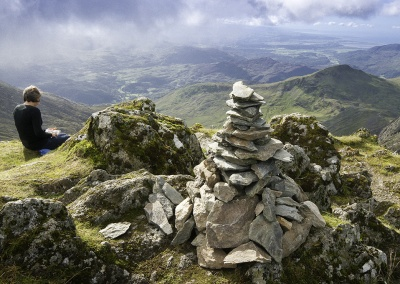 On the way up Mount Snowdon © Crown copyright (2014) Visit Wales