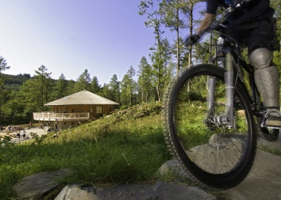 Purpose built mountain bike trails for all abilities at  Coed y Brenin © Crown copyright (2014) Visit Wales