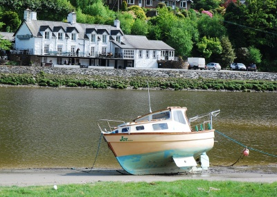 Walk or bike to George III Pub on the Mawddach Trail
