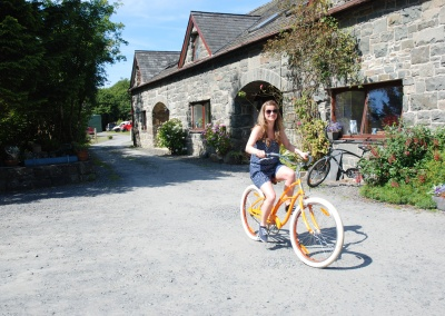 Hire one of our cruiser bikes