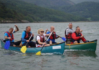 Paddlesports team Graig wen