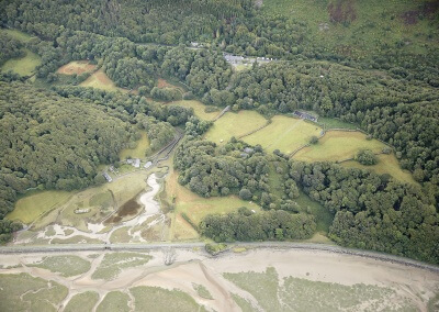 Aerial photo of Graig Wen