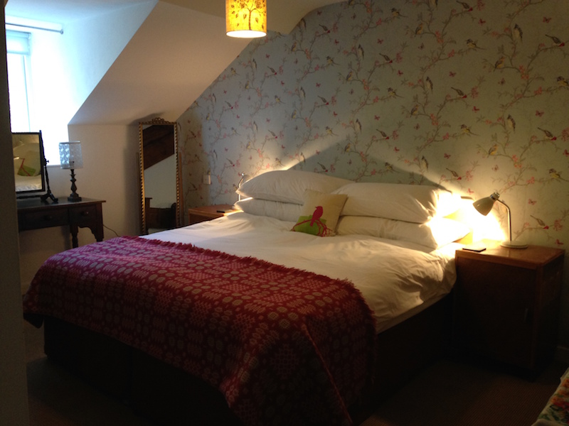 Double bed in one bedroom