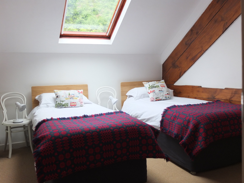 Second bedroom can be set up with twin beds or one superking double