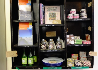Maps, walking books and locally made gifts