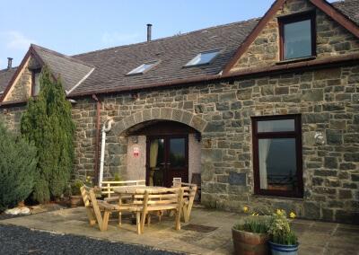 Pine Cottage terrace