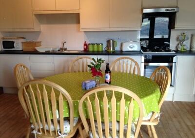 New kitchen in Pine Cottage