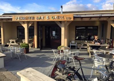 Beach bar in Fairbourne