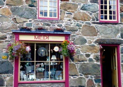 Quirky gift shop in Dolgellau