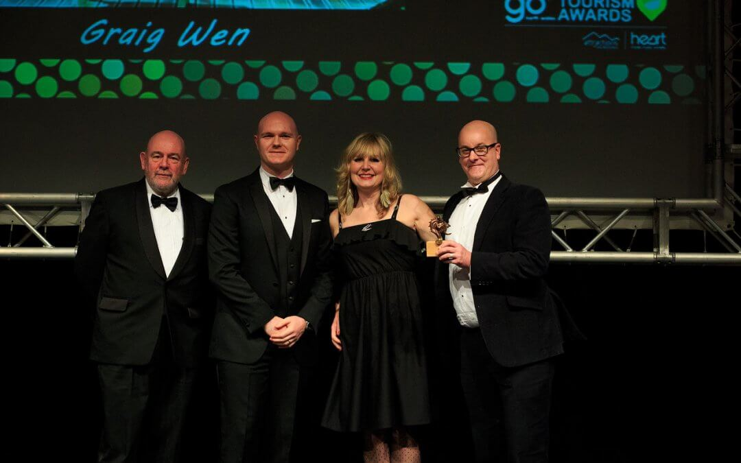 Winner of North Wales Tourism Award
