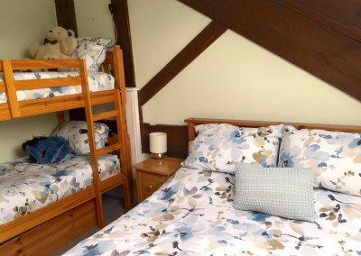 Bunks in second bedroom