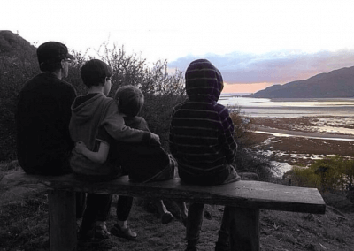 Family time at Graig Wen - thanks to Pears39 for photo