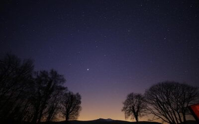 Stargazing event at Graig Wen