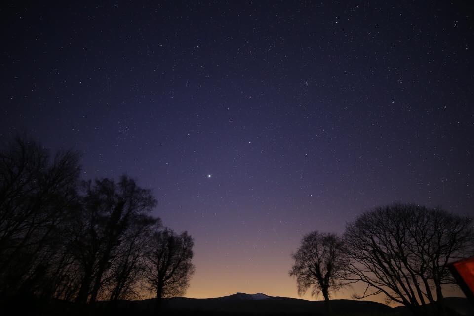 Stargazing event at Graig Wen