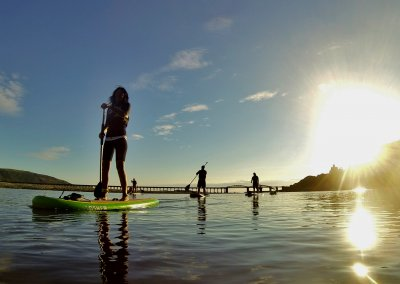 Stand Up PAddleboarding from Barmouth