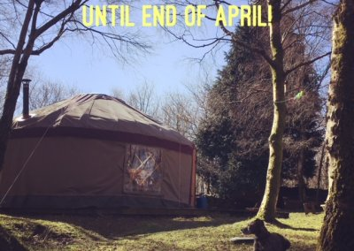 Last Minute glamping deal