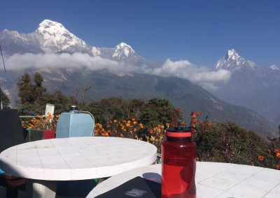 Himalayan Terrace view