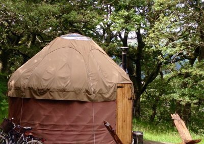 Wild escapes in our yurt for two