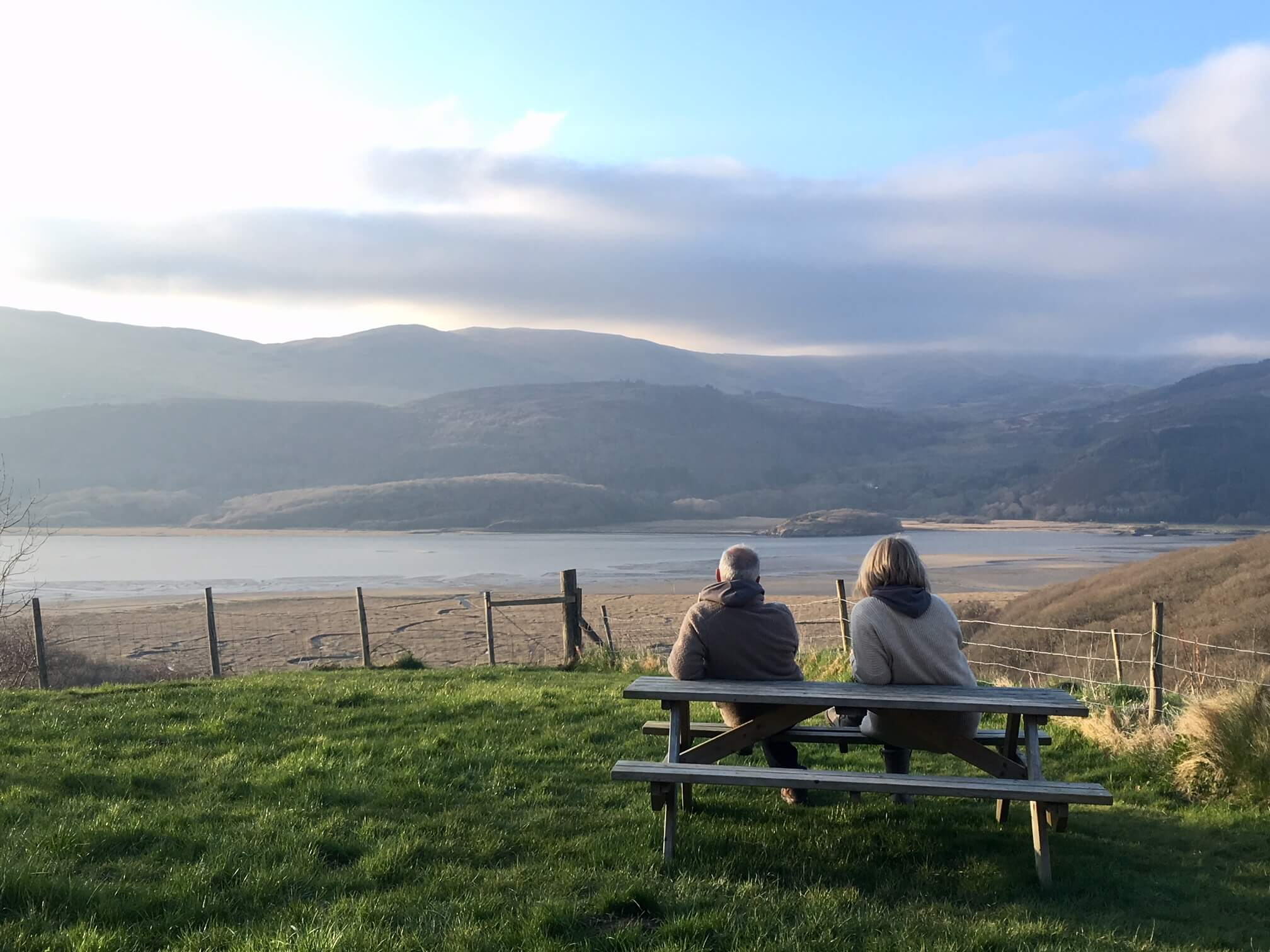 Relax and soak in the views at Graig Wen