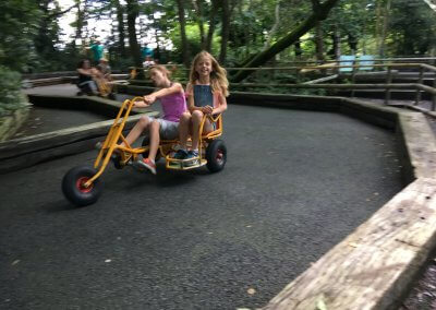 Pedal carting at Greenwood forest park