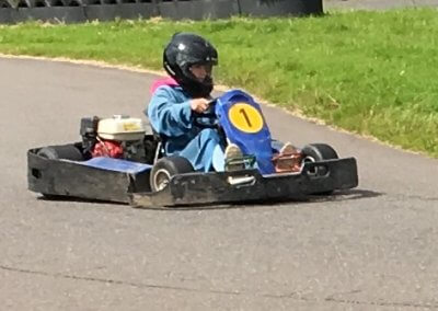 Go carting at Glasfryn Park