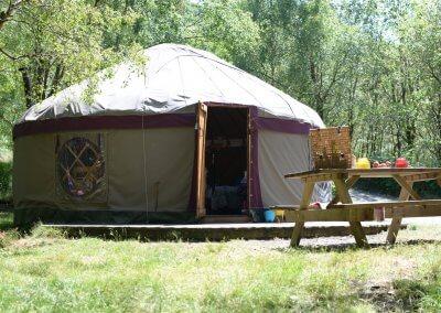 Beautiful large yurt