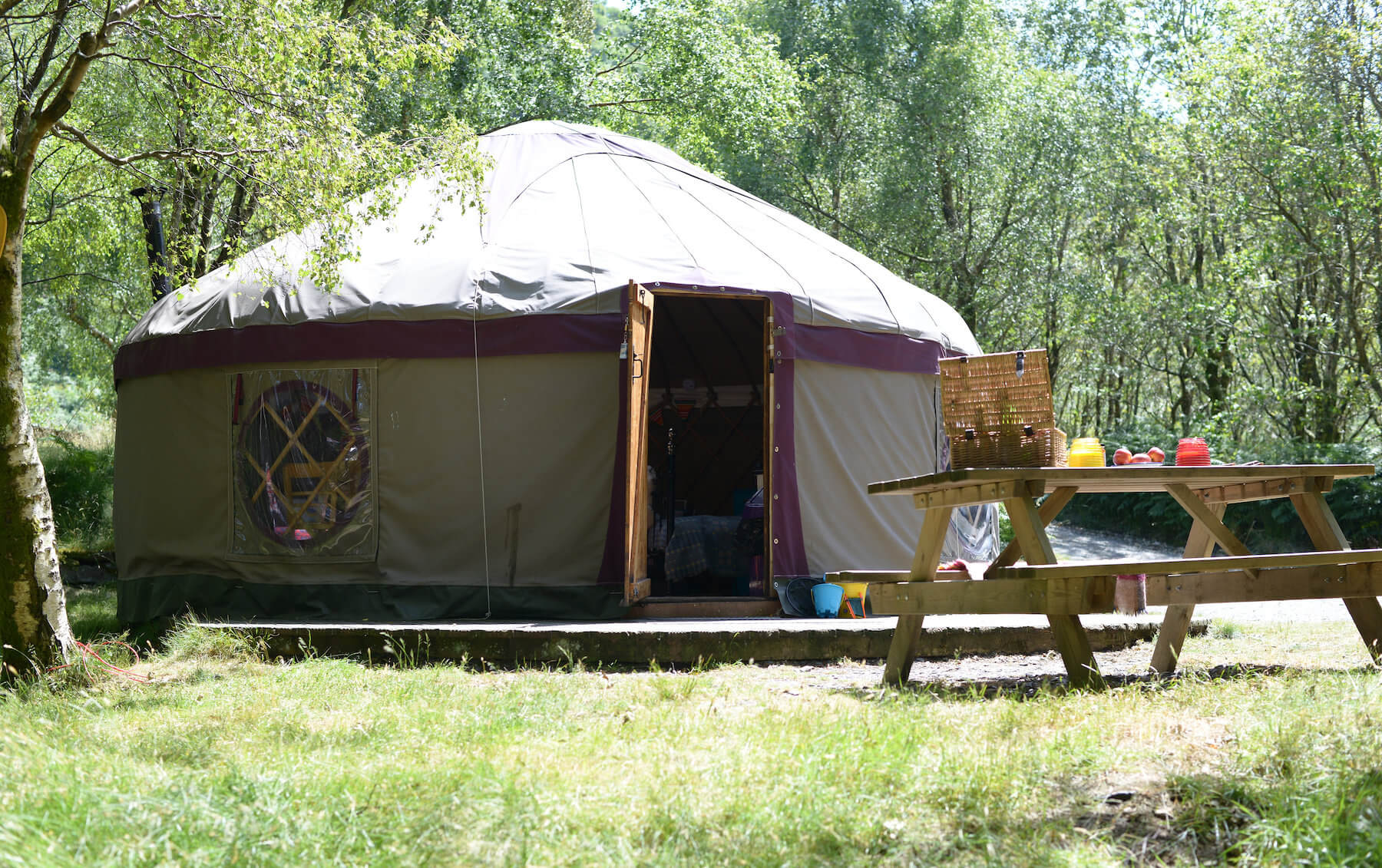 Beautiful large yurt