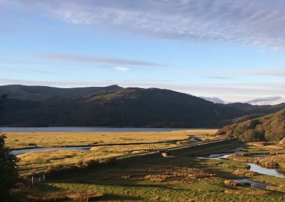 Walk down to the Mawddach Estuary