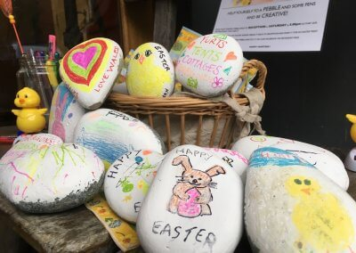 Easter pebble creations