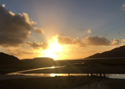 Winter Sunset on the Mawddach Estuary