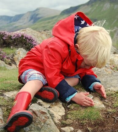 Lots for young adventurers to discover.  Photo by Roger Webster, winner of our photo competition