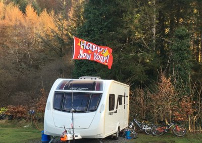 Open for festive camping!