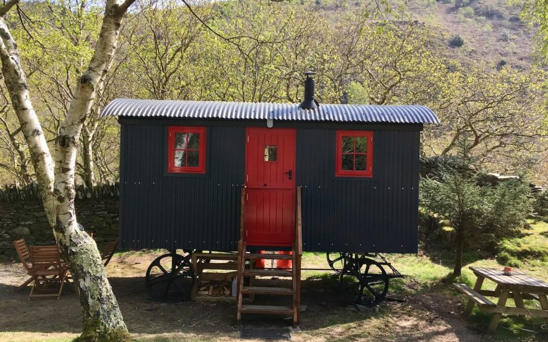 Building our dream Shepherd's Hut