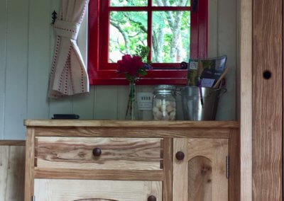 Beautiful Welsh wood fittings