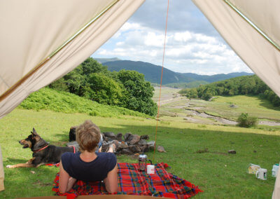 Back to nature Camping in Snowdonia
