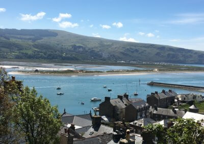 Barmouth from old town streets