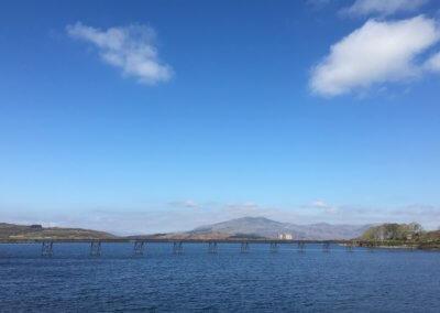 Trawsfynydd Lake bridge