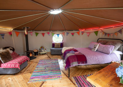 Spacious glamping in Tommy