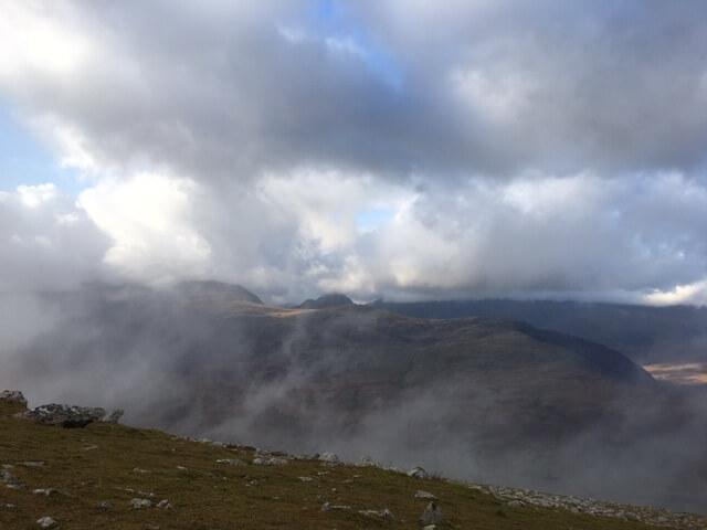 Drifting cloud