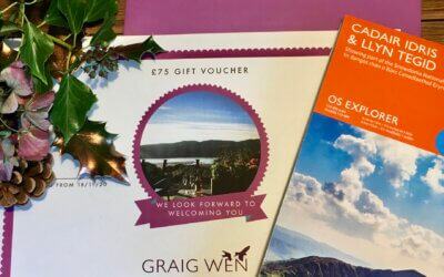 Gift vouchers for the outdoors lover