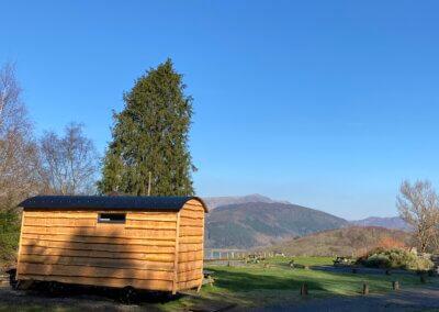 Small Duchess wagon overlooks view
