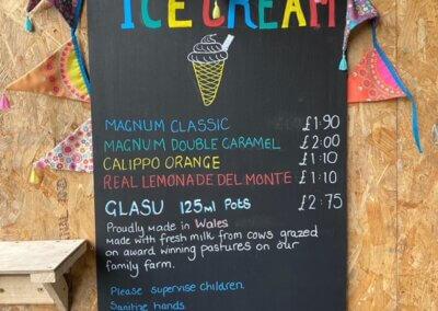 Ice Cream sales