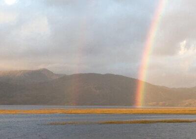 Rainbow on Mawddach