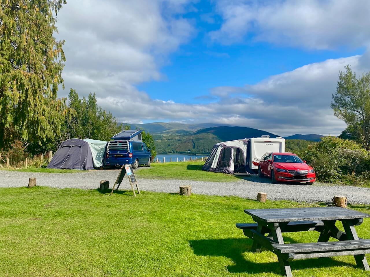 Snowdonia Camping at Graig Wen